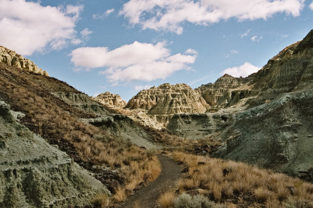 Big Basin des John Day Fossil Beds