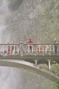 Multnomah Falls am Columbia River