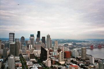 Seattle - Blick von der Space Needle.