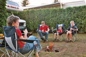 Letztes Grillen, Cedars RV Resort