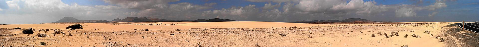 Fuerteventura: Dünen von Corralejo
