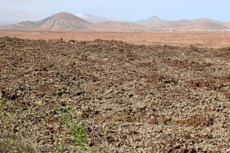 Fuerteventura: Das Lavafeld Malpais Grande