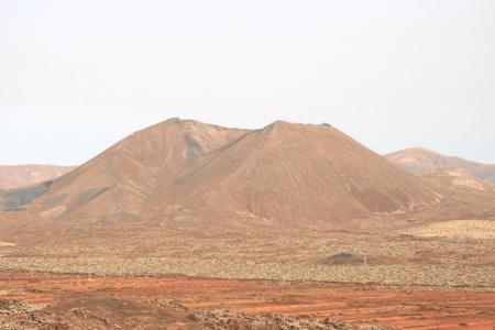 Fuertevenura: Krater bei Tiscamanita