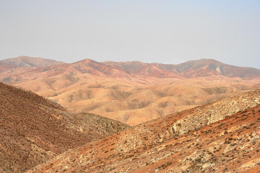 Zabriskie Point? Nein - mitten in Fuerteventura.