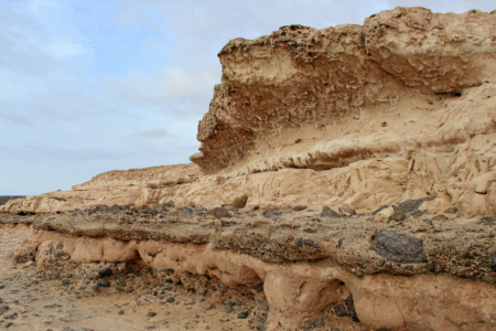 Ajuy - Steilküste