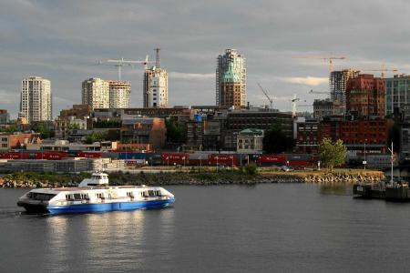 Hafen von Vancouver.