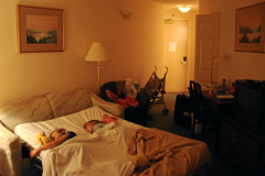 Rosedale on Robson: Sofabett für die Kleinen