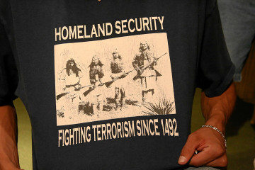 Native Americans against Terrorism