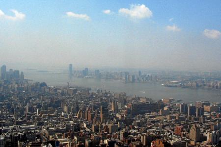 New York: auf dem Empire State Building