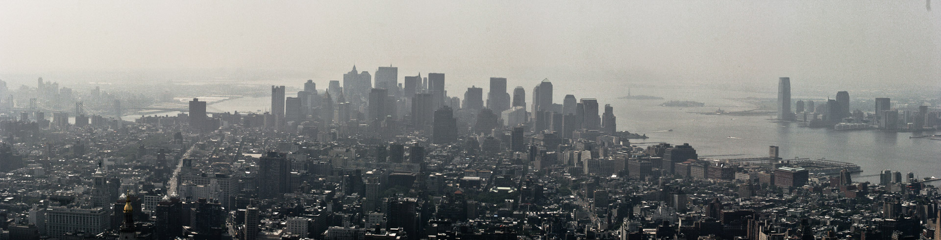 New York: Blick vom Empire State Building auf Süd-Manhattan