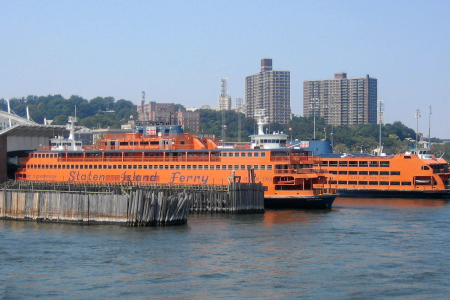 New York: Staten Island Ferries