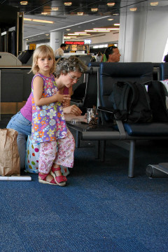 JFK Airport: Warten ...