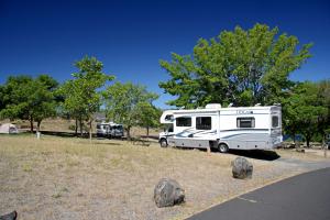 Spring Canyon Campground, Lake Roosevelt NRA