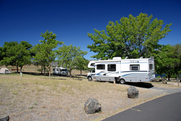 Spring Canyon Campground, Lake Roosevelt NRA