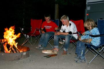 Camping-Idylle.