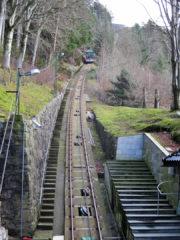 Ausflug auf den Hausberg von Bergen, den Floien. Zu Fuß hoch, mit der Bahn runter.
