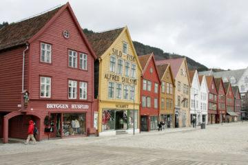 Bryggen, das Hanseviertel