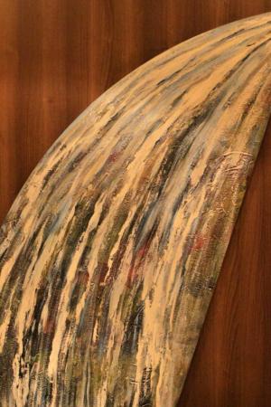 Kunst auf der MS Trollfjord: Wasserfall 1