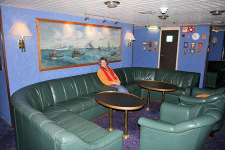 Salon der MS Vesterålen