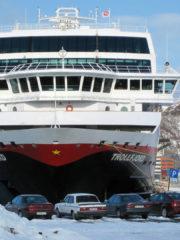 Bodø: MS Trollfjord