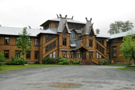 Pracht vor 150 Jahren: Dalen-Hotel
