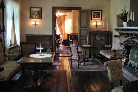 Der Salon des Dalen-Hotel