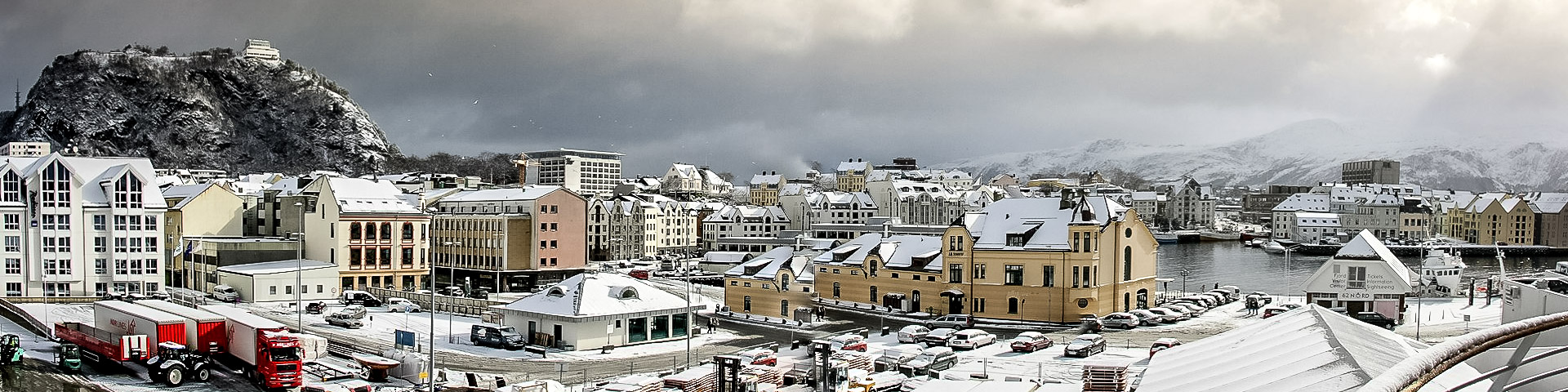 3 Stunden Aufenthalt in Ålesund