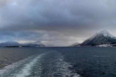 Zwischen Ålesund und Molde