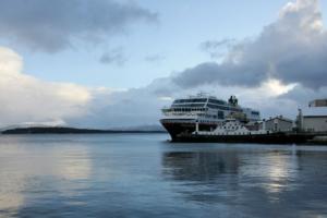 MS Trollfjord in Molde