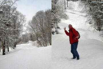 Schnee auf dem Lian ;-)