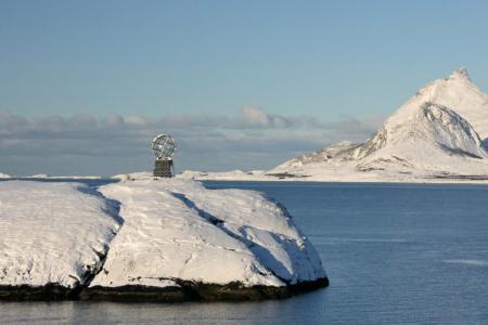 Der Polarkreis, zwischen Trondheim und Bodø