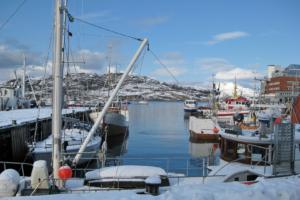 Bodø: 2,5 Stunden Aufenthalt - wir beschlossen, unseren Radius wieder durch Laufen zu erhöhen ;-)
