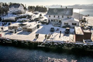 Hafen von Finnsnes