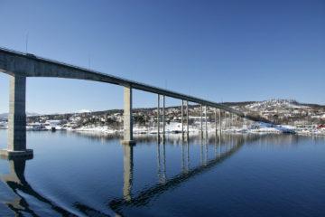 Brücke in Finnsnes