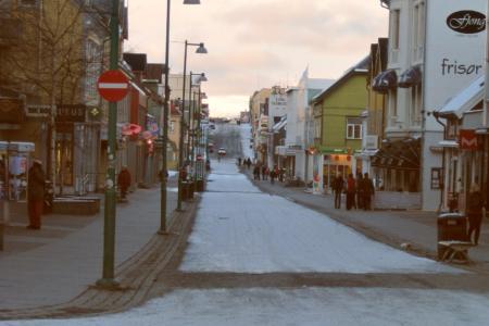 Tromsø: GEHEIZTE Bürgersteige!