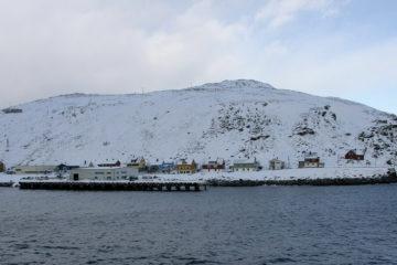 Havøysund, zwischen Tromsø und Hammerfest