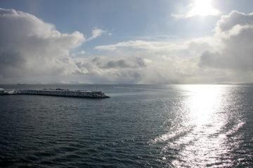 Magerøy - die Insel, auf der das Nordkap liegt.