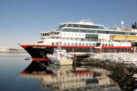 MS Trollfjord in Kirkenes