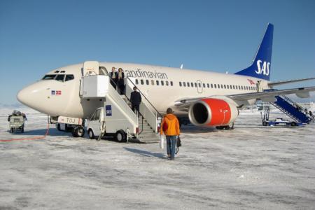 Rückflug von Kirkenes