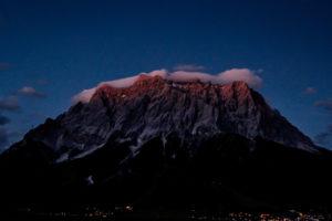 17.7. Zugspitze in der Nacht