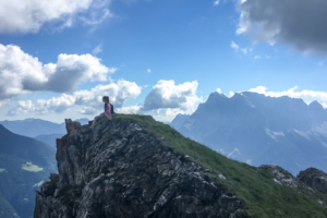 19.7. Aufstieg zum Grubigstein