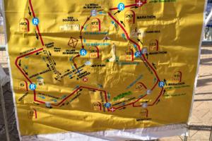 27.1.2017 - Halbmarathon Strecke