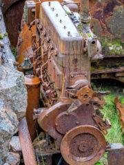 15.9.2016 - Maschinenwrack, Glen Valtos bei Uig