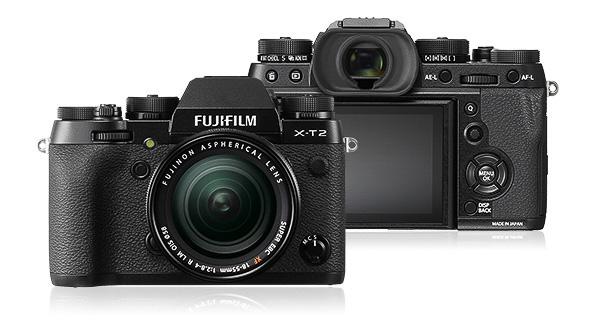 Fuji X-T2 mit 18-55mm