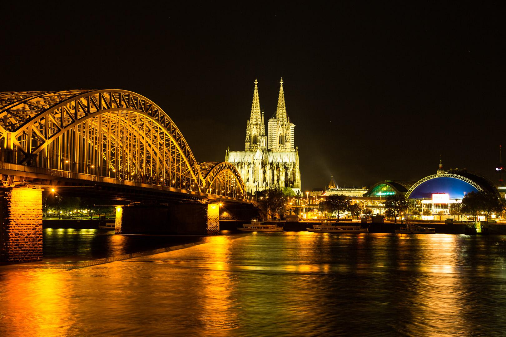 12.5.2012: Köln bei Nacht