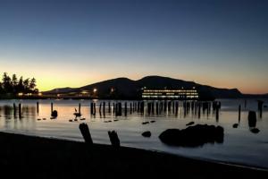 30.7.2017 - Abendspaziergang, Anacortes Ferry Station