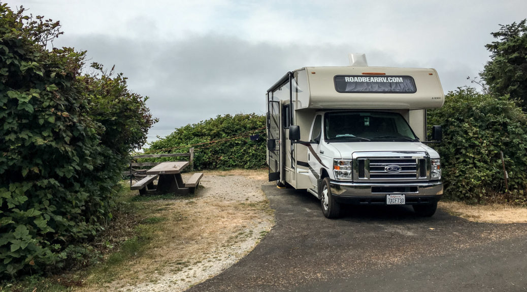 11.8.2017 - Olympic NP, Kalaloch Campground, Site A16