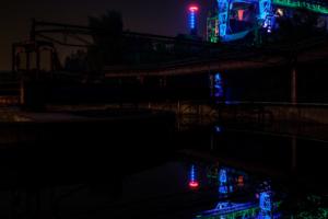 23.9.2017 - Landschaftspark Duisburg, das Krokodil
