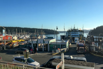 31.7.2017 - Fähranleger Friday Harbor