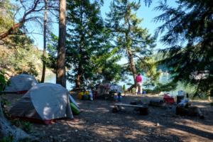 31.7.2017 - Campground auf Stuart Island